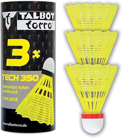 Talbot-Torro Tech 350, nylonowe lotki, rurka 3 szt.