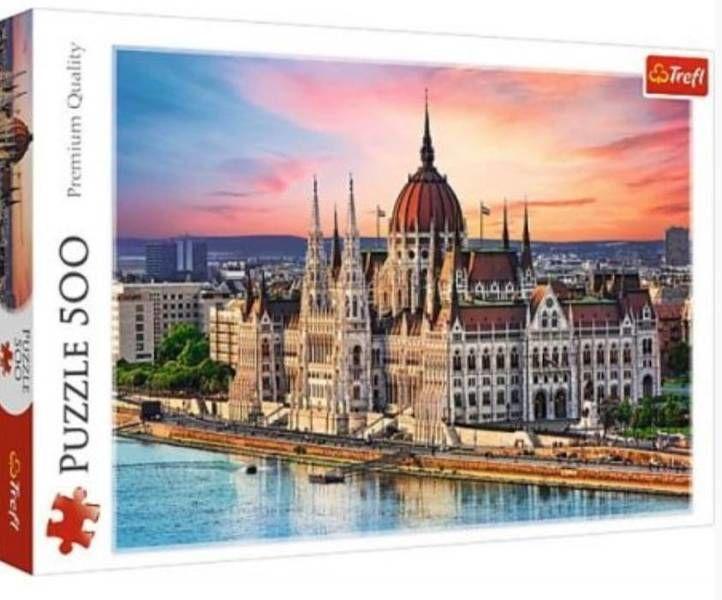 Puzzle 500 Budapeszt Węgry TREFL