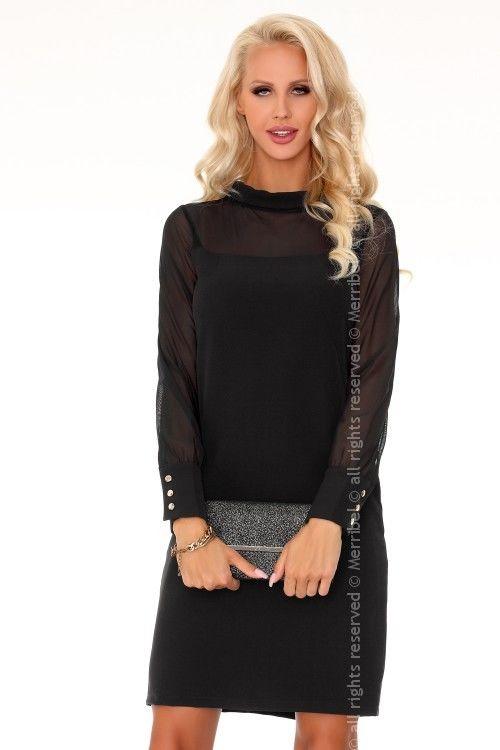 Venetiana Black 85373 sukienka