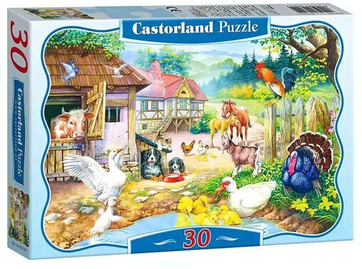 Puzzle 30 Zwierzęta na farmie CASTOR - Castorland