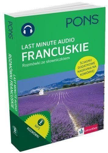 Last Minute audio. Francuskie rozmówki PONS - Jacqueline Sword