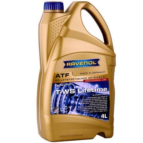 Olej przekładniowy Ravenol ATF T-WS Lifetime 4L