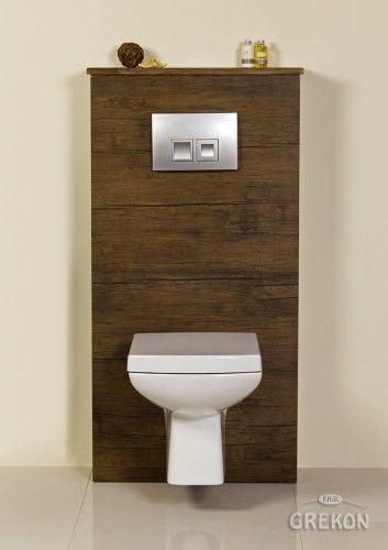 Zabudowa stelaża WC antyczne drewno, Gante FOKUS