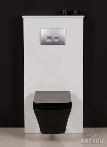 Zabudowa stelaża WC biała, Gante FOKUS