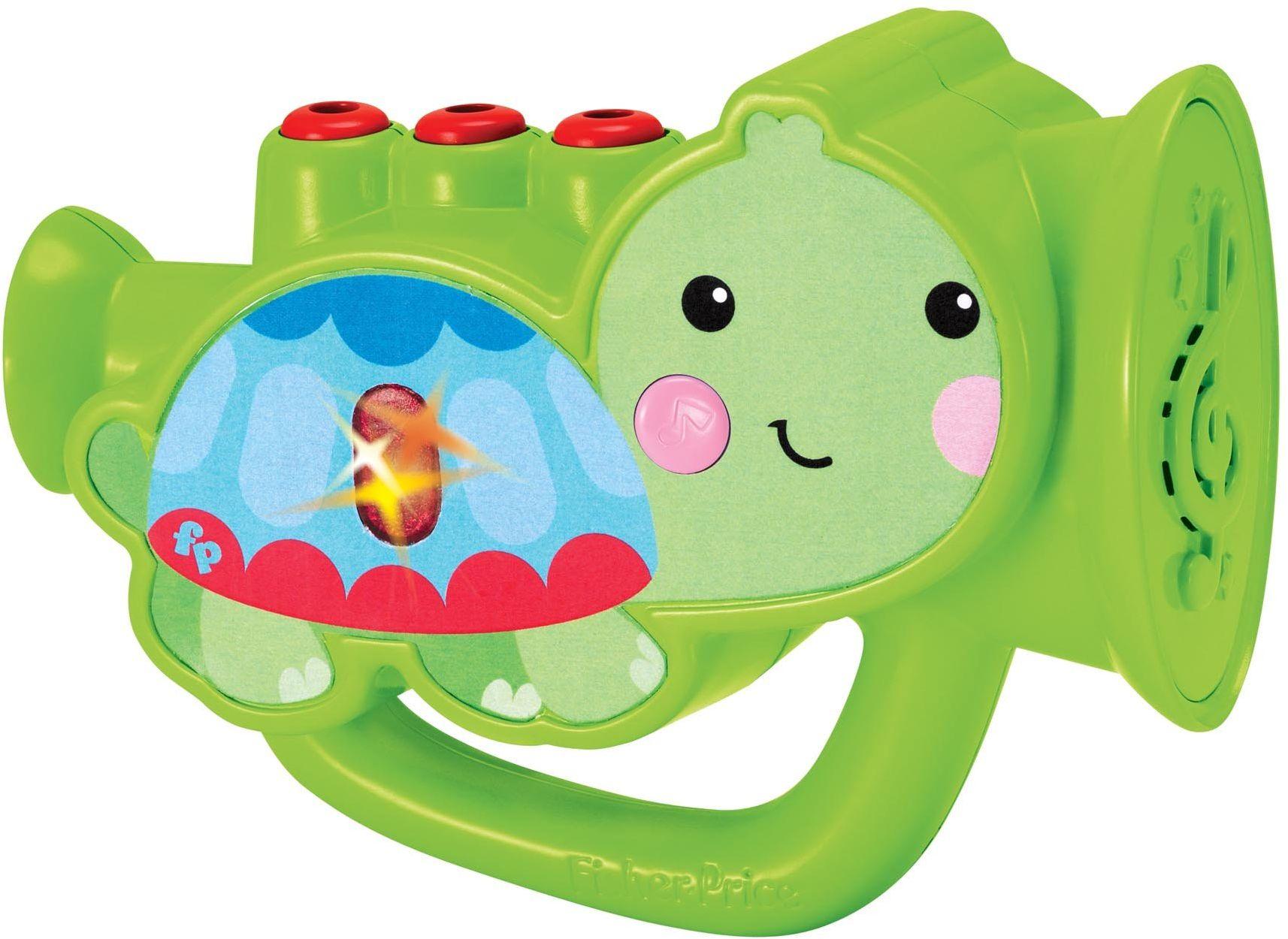 Fisher-Price Reig KFP2133 trąbka, zabawka + 2 lata (zabawki dla dzieci)