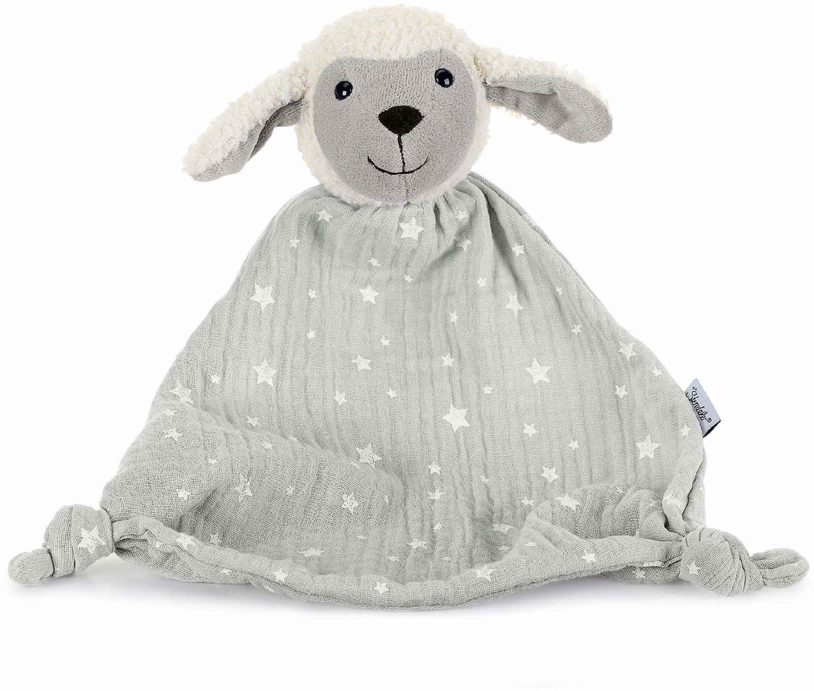 Sterntaler 3221968 owca do przytulania, wielokolorowa