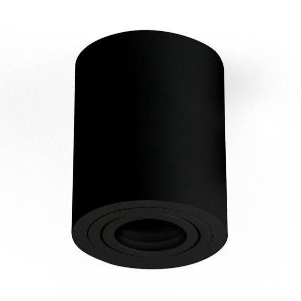 Oprawa sufitowa spot tuba natynkowa CROSTI SASARI RO 145 S czarny śr. 9cm - Czarny Koło S