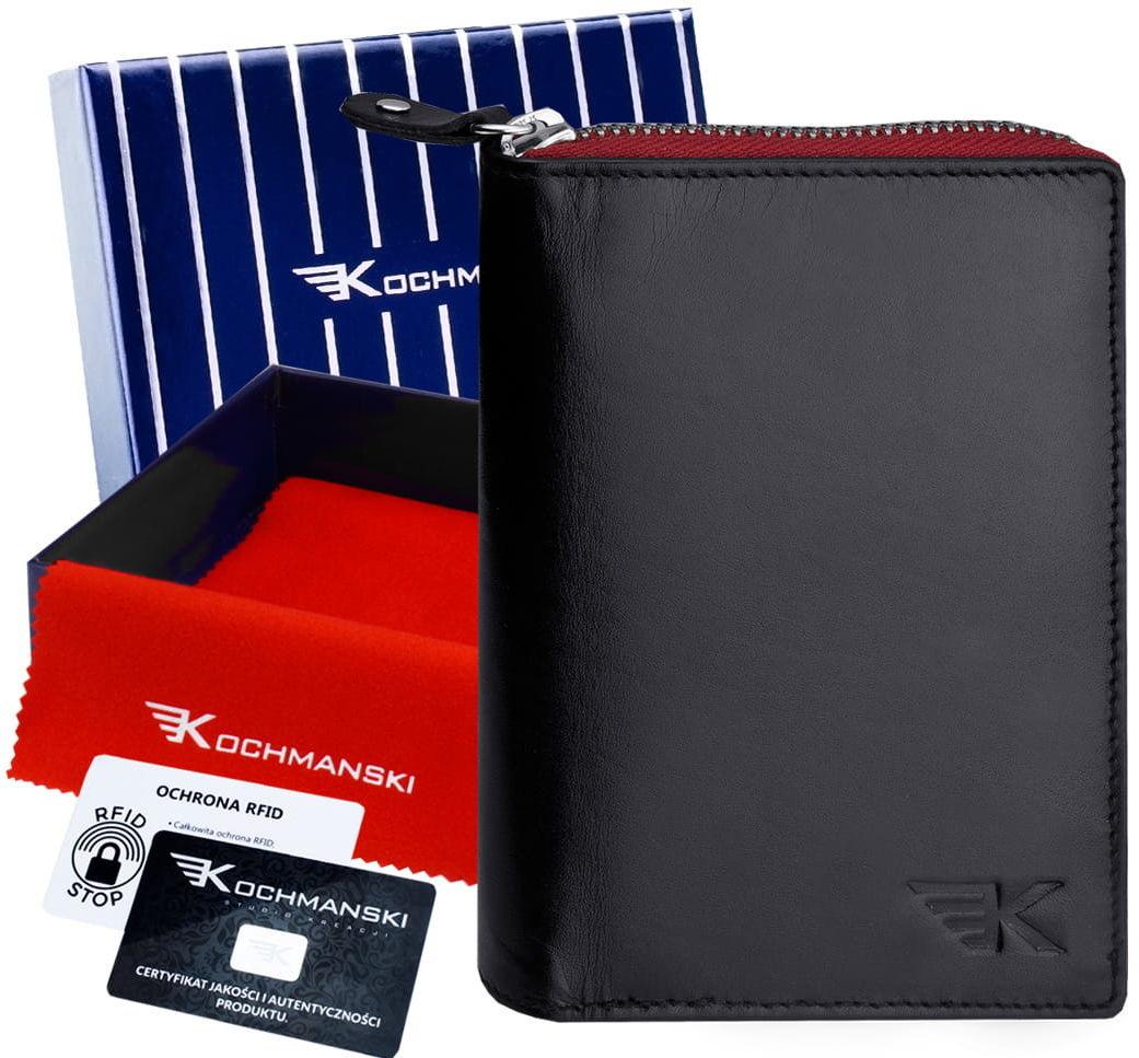 Kochmanski skórzany portfel męski PREMIUM 3134