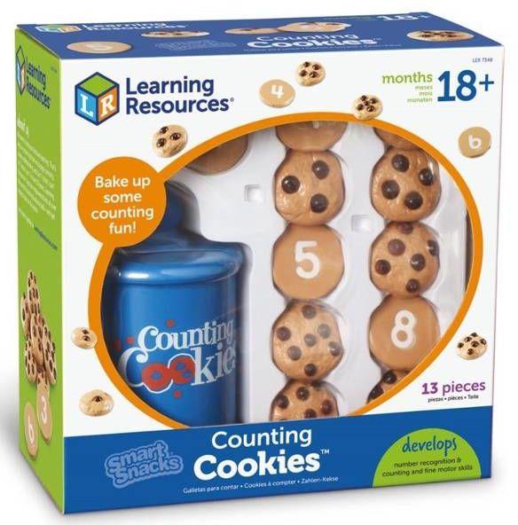 Ciasteczka, Zestaw zabawek do nauki liczenia - Learning Resources