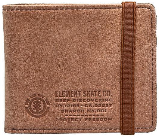 Element ENDURE L. II brown mężczyzna luksusowy portfel