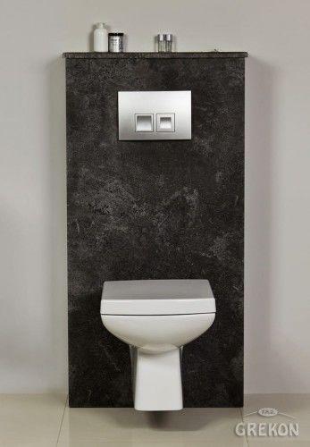 Zabudowa stelaża WC grafit, Gante FOKUS
