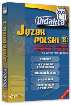 Didakta - Multilicencja nieograniczona czasowo - Język polski 2 - Ortografia, składnia, frazeologia i fonetyka dla SP