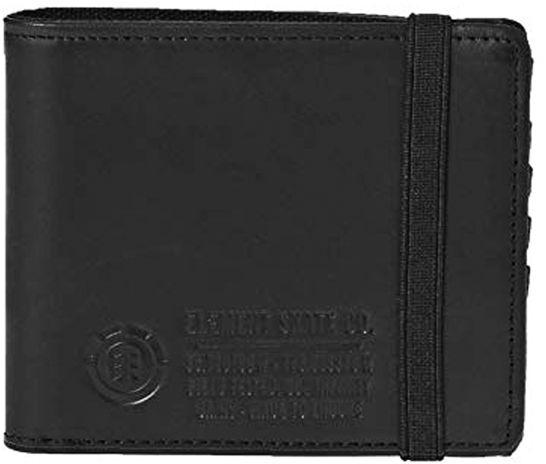 Element ENDURE L. II black mężczyzna luksusowy portfel