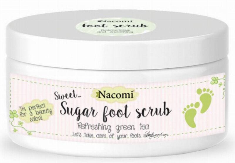 Nacomi - Foot scrub - Naturalny peeling do stóp - 125g