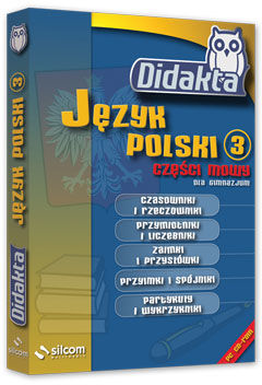 Didakta - Multilicencja nieograniczona czasowo - Język polski 3 - Części mowy dla gimnazum