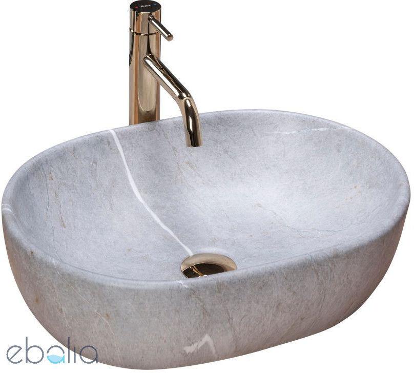 Umywalka nablatowa 50 Lara Grey Rea (REA-U9889)