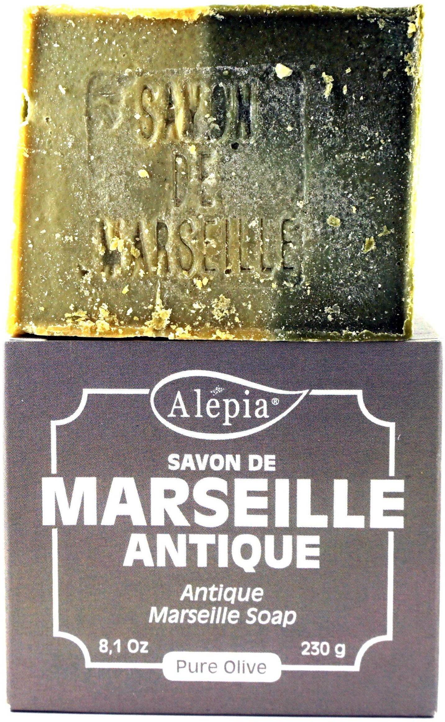 Mydło Marsylskie Pure Olive - 100% Oliwy z Oliwek - 230g - Alepia
