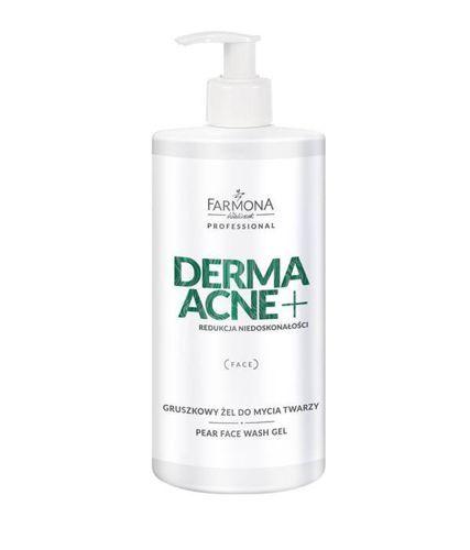 Farmona DERMAACNE + Gruszkowy żel do mycia twarzy