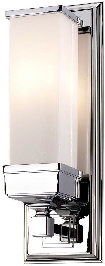 Kinkiet łazienkowy Cambridge BATH/CM1 Elstead Lighting klasyczna oprawa w kolorze polerowanego chromu