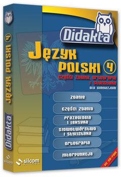 Didakta - Multilicencja nieograniczona czasowo - Język polski 4 - Części zdania, ortografia i stylistyka