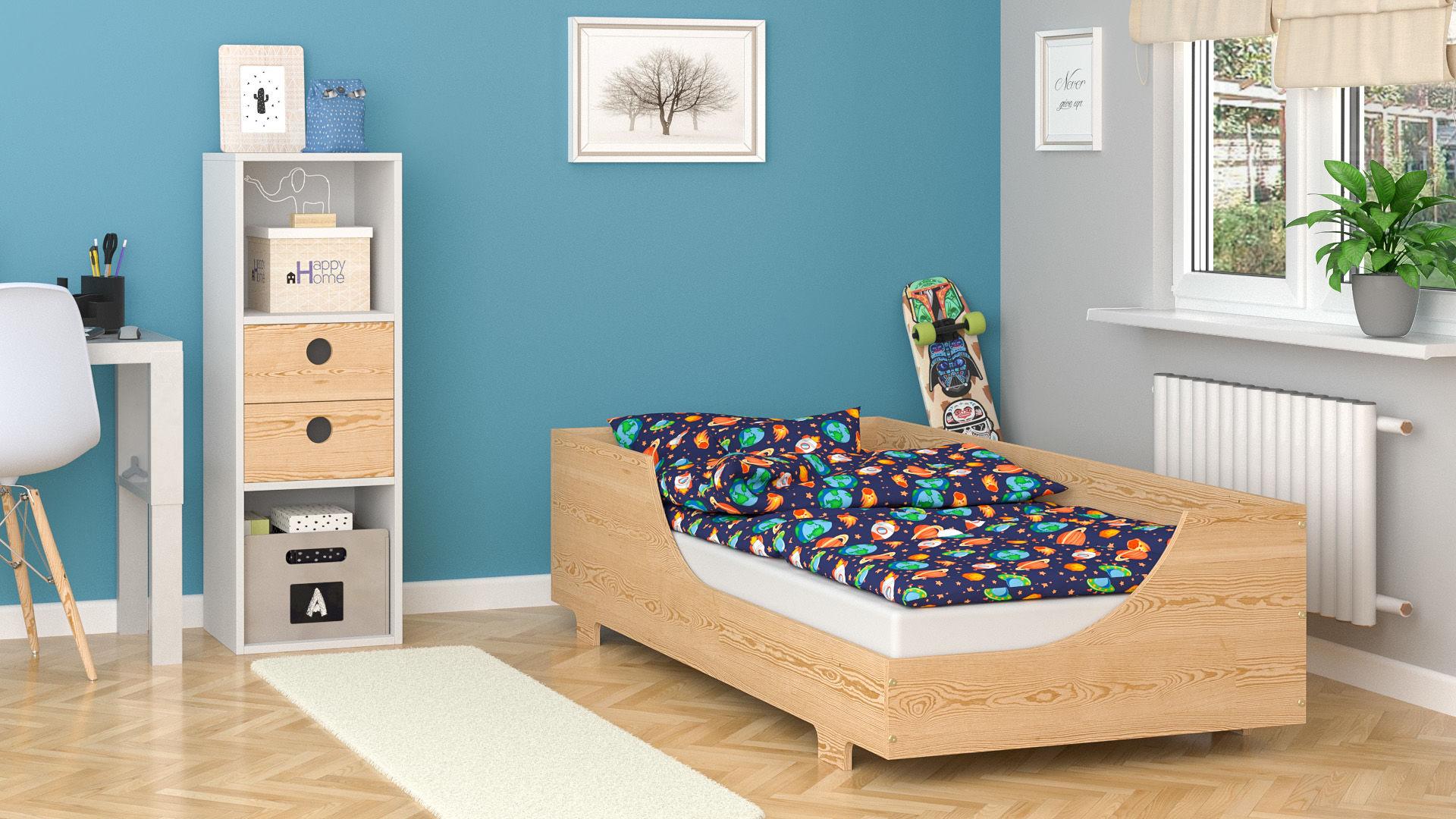 Łóżko dla dzieci pojedyncze Charlene