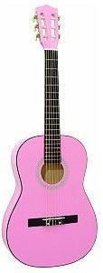 Dimavery AC-303 classical guitar 3/4, pink, gitara klasyczna