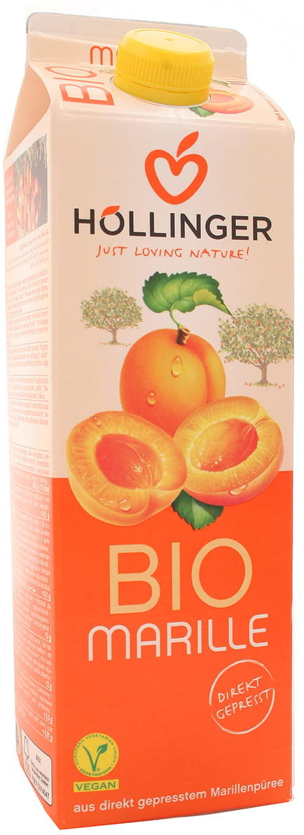 Nektar morelowy BIO - Hollinger - 1000 ml