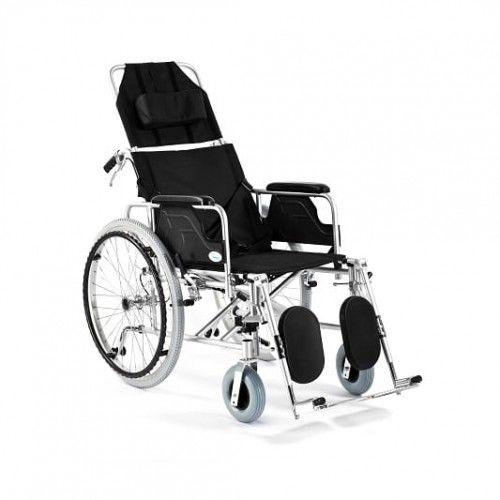 Wózek inwalidzki aluminiowy stabilizujący plecy i głowę FS 954 LGC