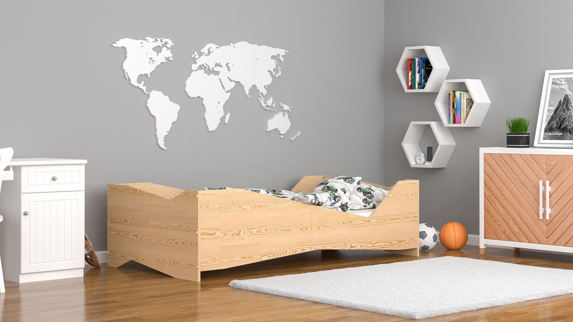 Łóżko dla dzieci pojedyncze Luna