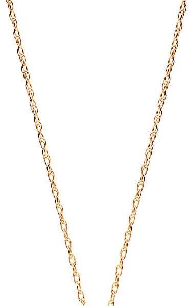 Staviori naszyjnik. żółte złoto 0,585. długość regulowana 40cm lub 43cm. szerokość 1 mm. łańcuszek / naszyjnik - delikatny jak mgiełka - który można nosić sam lub dobrać jakąś delikatną zawieszkę.