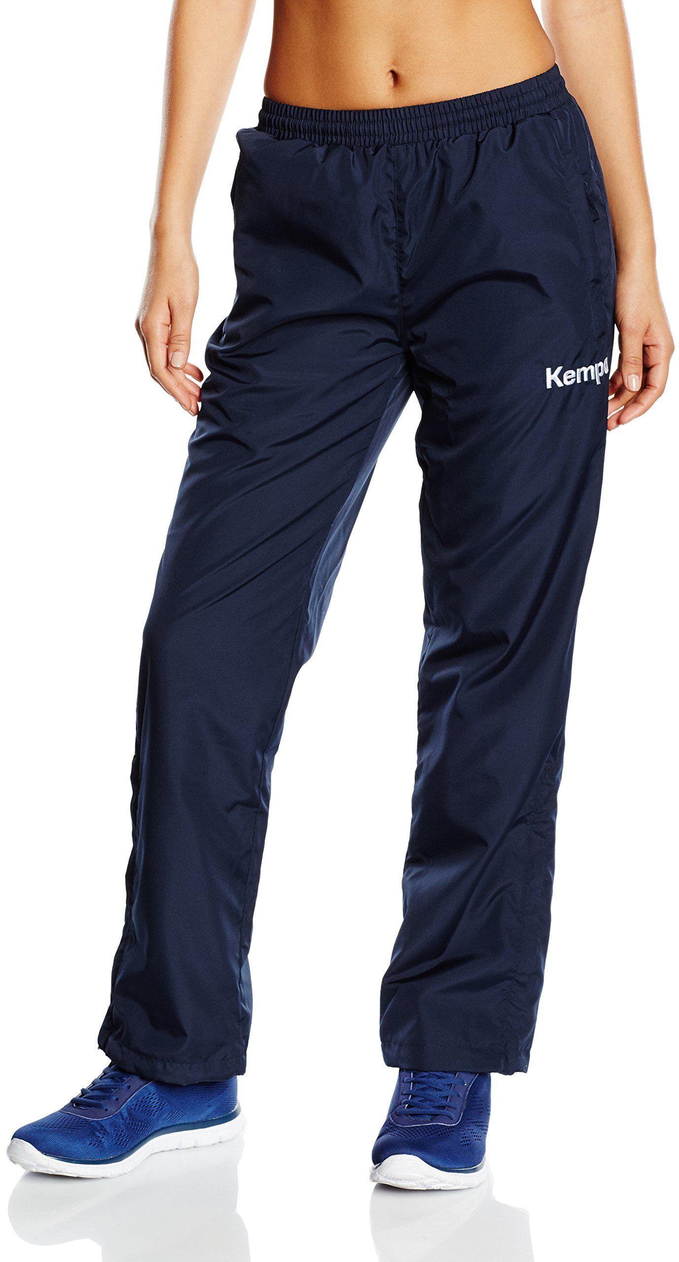 Kempa damskie spodnie prezentacyjne niebieski morski X-S