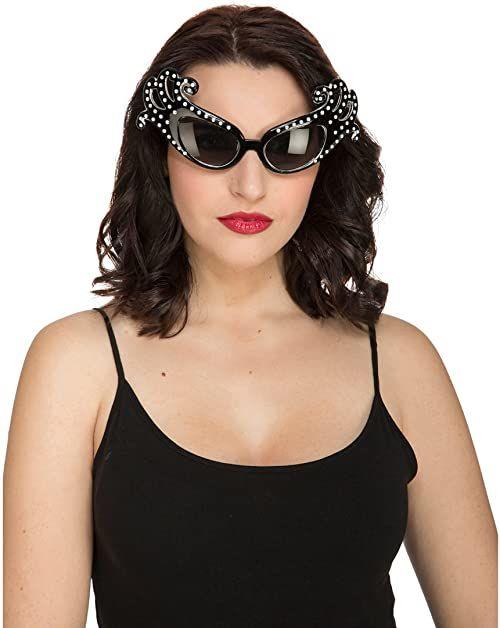 Kostiumy żyjące 204862 okulary piękne, wielokolorowe, jeden rozmiar