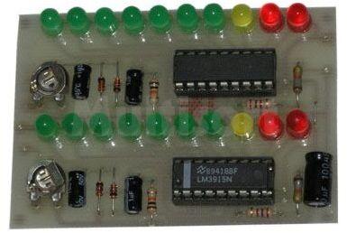 Wskaźnik poziomu sygnału stereo (do montażu)