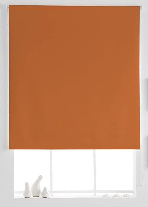 Estoralis Aral roleta gładka pomarańczowa 130 x 230 cm