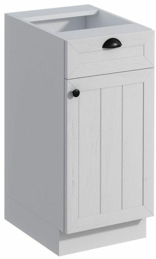 Szafka kuchenna stojąca Prowansja 40 cm kolor biały