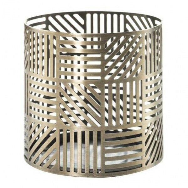 Yankee Candle Crosshatch Jar Holder Dekoracja do świec SZYBKA WYSYŁKA