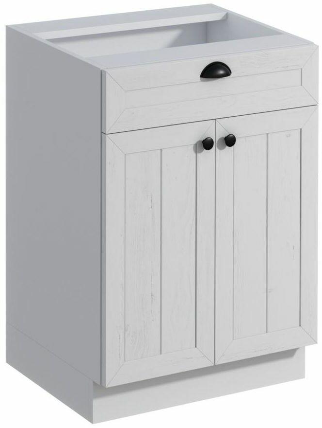 Szafka kuchenna stojąca Prowansja 60 cm kolor biały