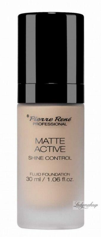 Pierre René - MATTE ACTIVE SHINE CONTROL FLUID FOUNDATION - Matujący podkład do twarzy - 01 CHAMPAGNE
