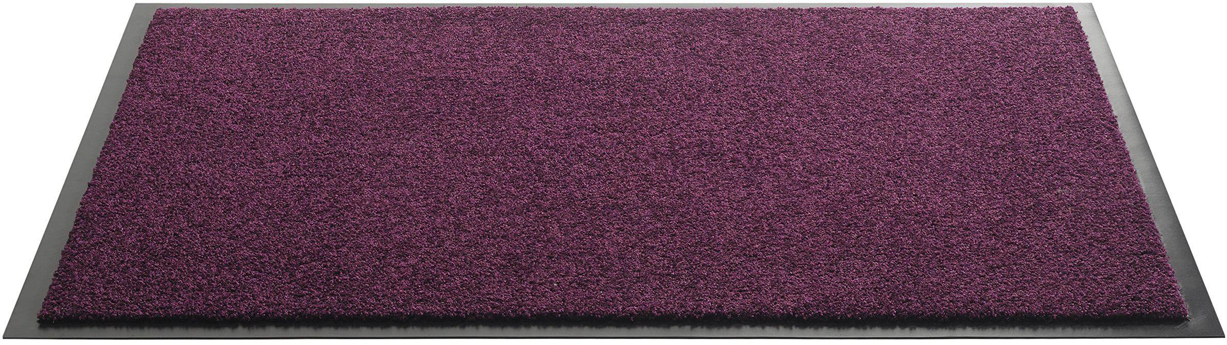 HMT wycieraczka z poliamidu, fioletowa, 80 x 120 cm