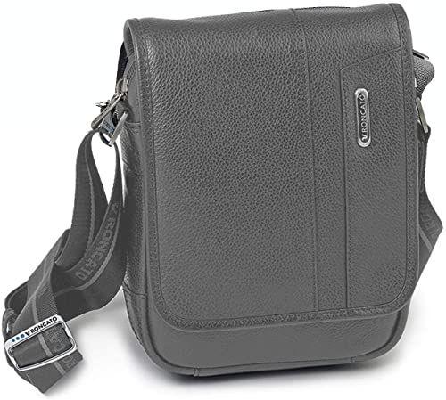 Roncato Panama Dlx torba na ramię, 21 cm, szara (Gris)