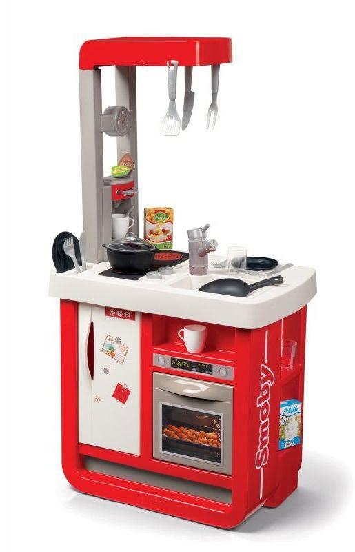 Smoby - Kuchnia elektroniczna Bon Appetit czerwona 310819