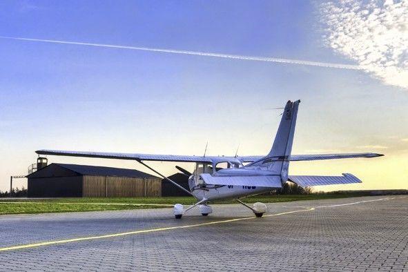 Lot widokowy samolotem - Poznań - Cessna 152 - 30 minut