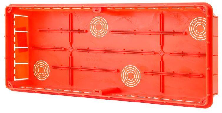 Puszka podtynkowa 400x156x66mm pomarańczowa Pp/t 10 11.10