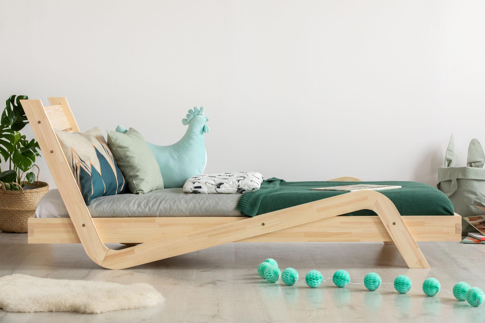 Łóżko dla dzieci pojedyncze Elza