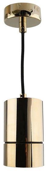 Lampa wisząca Raffael AZ1625 AZzardo nowoczesna oprawa w kolorze złotym
