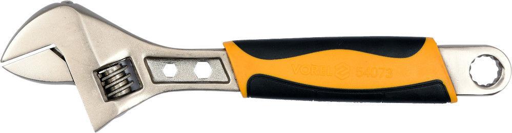 Klucz nastawny Vorel plastikowa rękojeść 300 mm