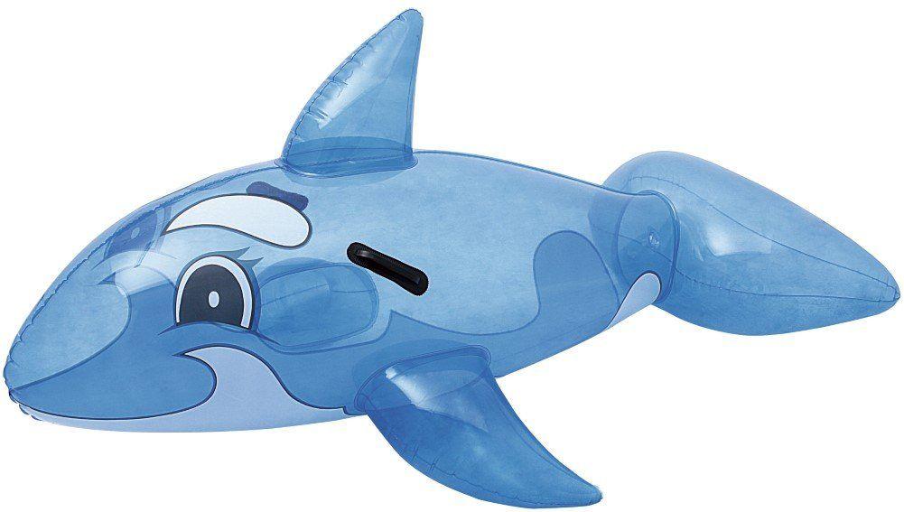 Bestway Przezroczysty Whale Rider 117x71 cm, pływające zwierzę