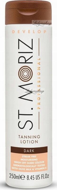 ST. MORIZ - Tanning Lotion - Brązujący balsam do ciała - Dark - 250 ml