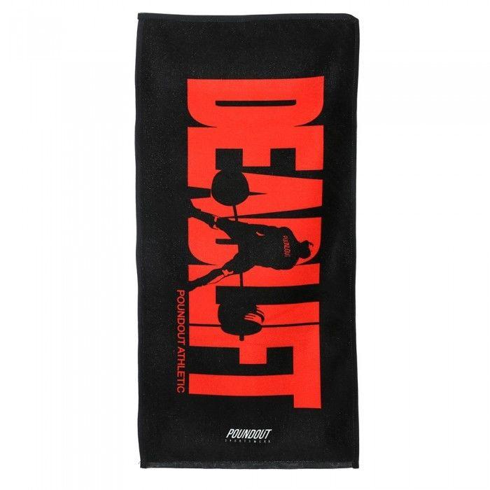 Poundout ręcznik na siłownię frotte DEADLIFT 35 cm x 70cm