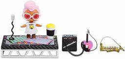 L.O.L. Surprise! 564935E7C Furniture - meble dla lalek i figurka kolekcjonerska z akcesoriami, festiwal muzyczny z grunge Grrl, 10 niespodzianek